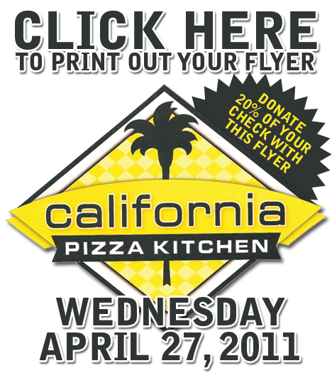 california pizza kitchen flyer